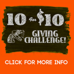10 for 10 Challenge