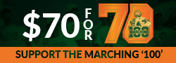 Marching 100 70 for 70 Campaign