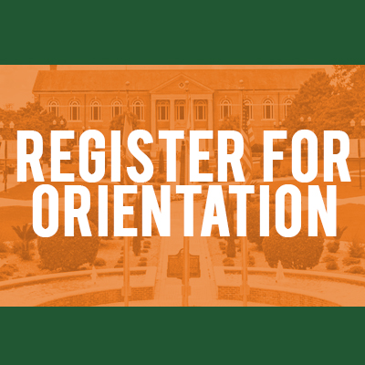 Register for Orientation