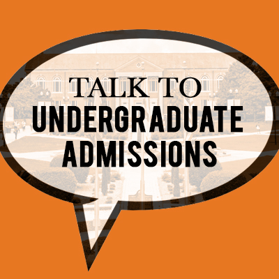 Talk to Admissions